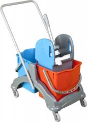 Vozík ROLL-MOP 2x17l se ždímačem