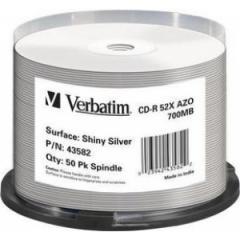 CD-R Verbatim 700 MB/80 min, cake box 50 ks,
