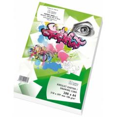 Kreslicí karton A4, 180 g, 200 ks