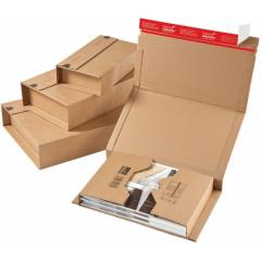 Krabice zásilková kartonová skládací ColomPac A4++, hnědá