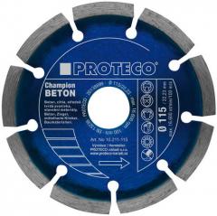 Diamantový segmentový kotouč PROTECO BETON CHAMPION