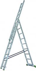 PROTECO žebřík univerzální hliníkový 3x11